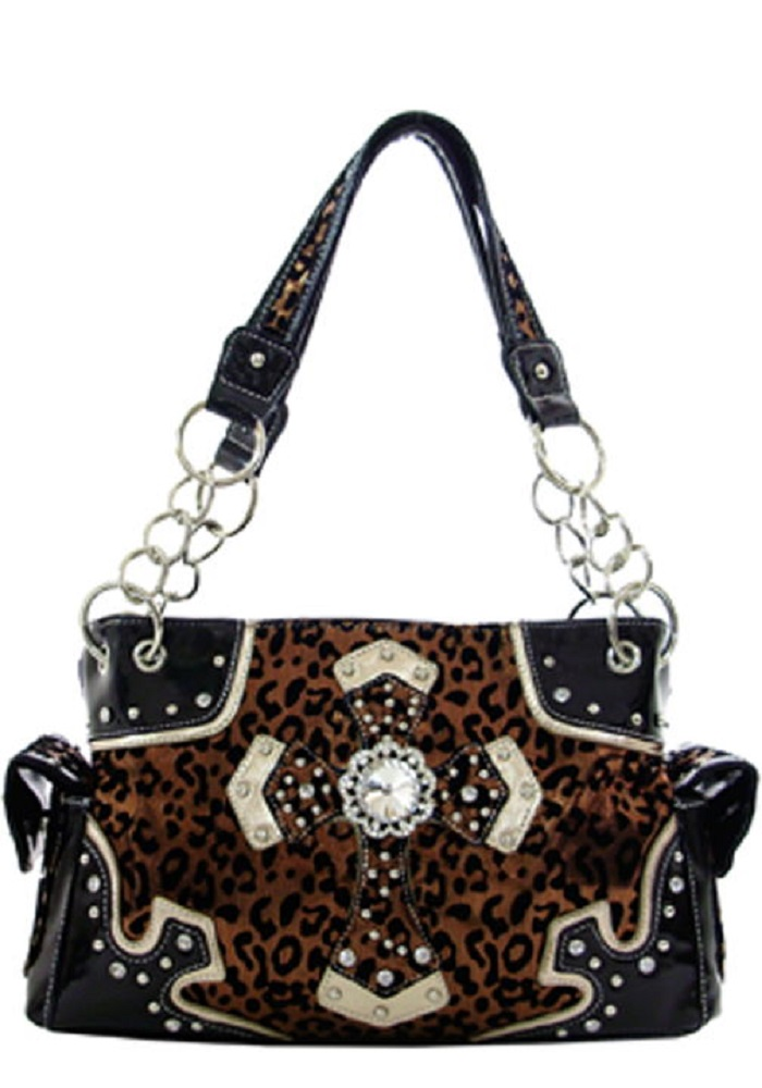 d1ccaf102b35 Fuzzy Leopard Print Purse and Matching Wallet available now!